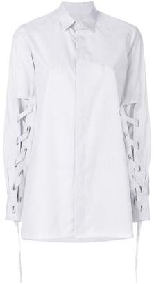 Each X Other lace-up detail shirt