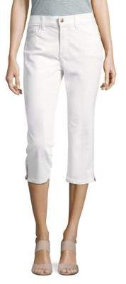 Ariel Cropped Solid Pants $88 thestylecure.com