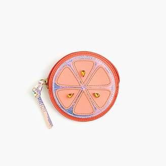J.Crew Orange coin purse