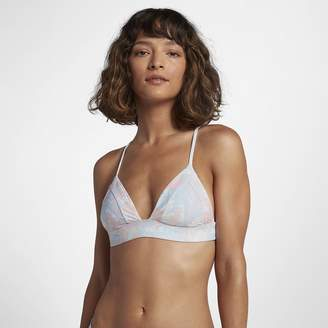 Hurley Quick Dry Floreal Bralette Women's Surf Top