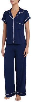 Eberjey Gisele Short-Sleeve Pajama Set