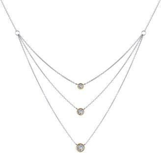 Lafonn Simulated Diamond Tiered Necklace