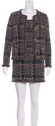 Chanel 2016 Paris-Rome Fantasy Tweed Dress Set