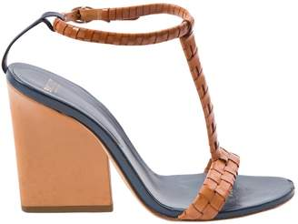 Bally Camel Leather Sandals