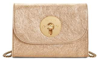 See by Chloe Mini Lois Metallic Calfskin Leather Crossbody Bag
