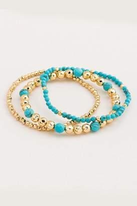 Gorjana Turquoise Layering Bracelet