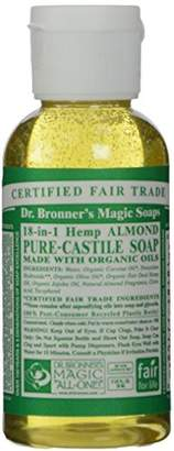 Dr Bronner Organic Almond Castile Liquid Soap 59 ml