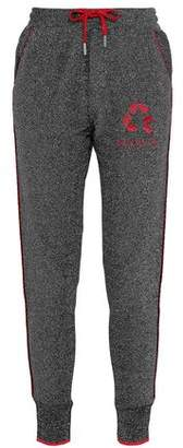 Zoe Karssen Embroidered Tweed Track Pants