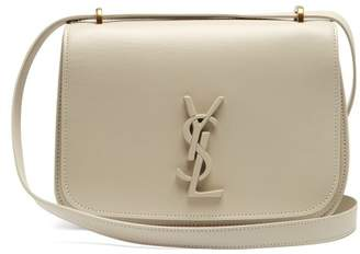 Saint Laurent Spontini Small Leather Bag - Womens - White