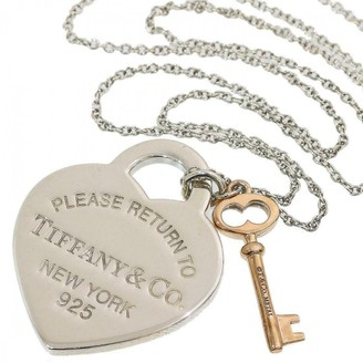 Tiffany & Co. & Co Return to Other Silver Necklaces