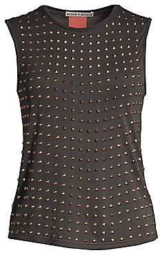 Alice + Olivia Women's Cicely Studded Tank