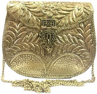 Jiyas Sling bag for women,party clutch, Metal clutches,Vintage Bag,Handmade Brass metal purse,Antique cross body bag,Ethnic Bag