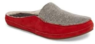 OluKai Alaula Genuine Shearling Lined Slipper