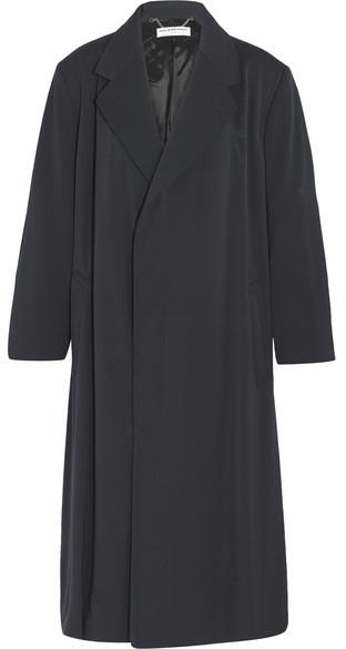 Balenciaga Balenciaga - Godfather Stretch-woven Coat - Black