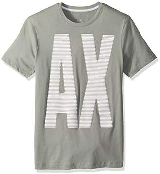 Armani Exchange A|X Men's Stripe Graphic tee