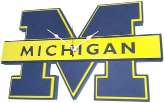 NCAA Kohl's Michigan Wolverines 3D Foam Wall Clock
