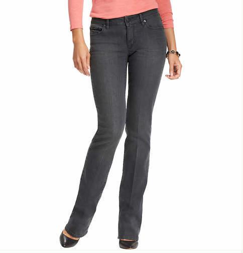 LOFT Tall Curvy Sexy Boot Jeans in Steel Grey Wash