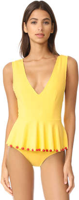 Marysia Swim Skirted Maillot $363 thestylecure.com