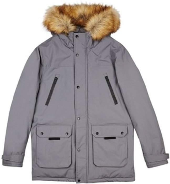 Womens **Burton Grey OAK Parka Jacket