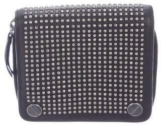 Balenciaga Studded Compact Wallet
