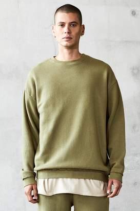 boohoo Oversized Heavyweight Washed Sweater