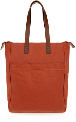 31d6a67b77 Ally Capellino Luke Orange Canvas Tote Bag