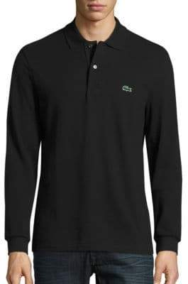 Lacoste Long Sleeve Classic-Fit Pique Polo