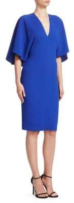 Ralph Lauren Valentina V-Neck Short-Sleeve Sheath Dress