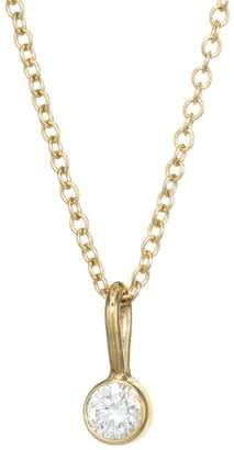 Chicco Zoe 14K Yellow Gold & Diamond Chain Pendant Necklace
