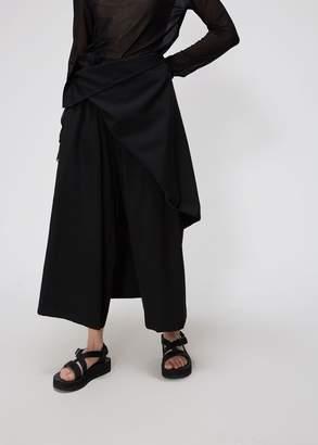 Yohji Yamamoto Detachable Front Pant
