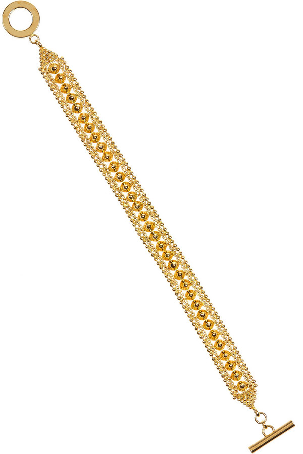 Noir Gold-plated bracelet