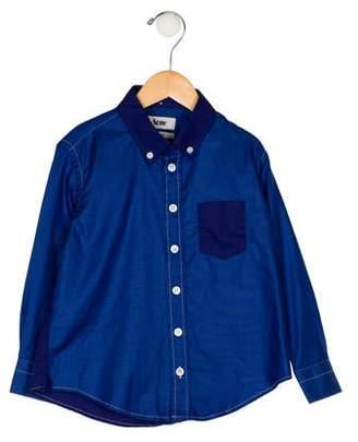 Acne Studios Boys' Button-Up Shirt