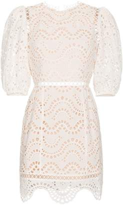 Zimmermann Jaya wave cotton dress