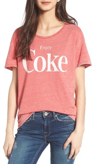 Women's Junk Food Enjoy Coke Tee