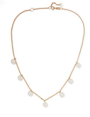 Lulu Natasha Schweitzer 9-karat Gold Freshwater Pearl Choker - one size