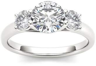 Imperial Diamond Imperial 1-5/8 Carat T.W. Diamond Three-Stone 14kt White Gold Engagement Ring