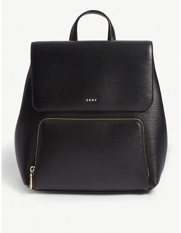DKNY Bryant Park leather backpack