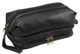 Dopp Jumbo Framed Faux Leather Travel Kit