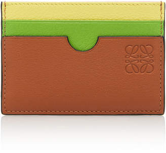 Loewe Multicolored Leather Card Holder