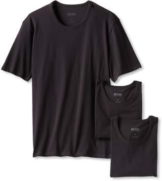 HUGO BOSS BOSS Men's 3-Pack Cotton Crew T-Shirt