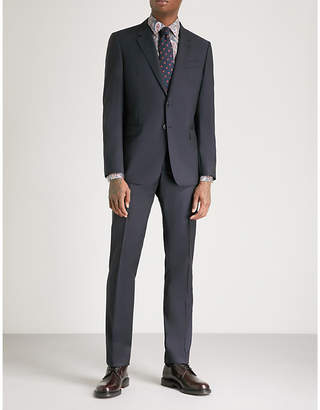 Paul Smith Byard tailored-fit wool and mohair-blend suit