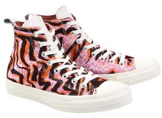 converse high top trainers