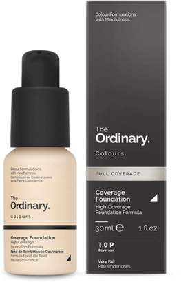 The Ordinary NEW Coverage Foundation (1.0 P) 30ml Womens Makeup
