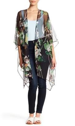 Cejon Summer Clover Sheer Kimono
