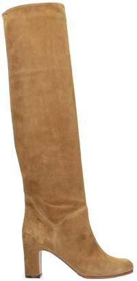 L'Autre Chose Brown Suede Leather Boots