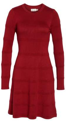Eliza J A-Line Sweater Dress