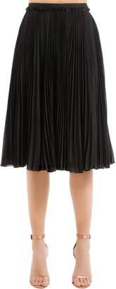 Rochas Plisse Midi Skirt