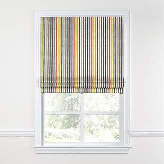 Loom Decor Flat Roman Shade Ithica - Toucan