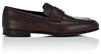 Ermenegildo Zegna Men's Leather Penny Loafers