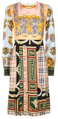 Burberry Archive Print Check Dress